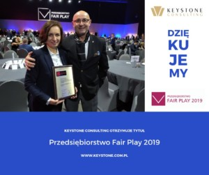 Keystone Consulting Przedsiębiorstwo Fair Play 2019